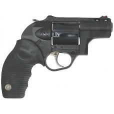 Taurus 605 DA/SA Revolver 2605021PLY, 357 Magnum, 2 in, Polymer Grip, Blue Finish, 5 Rd