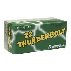 Remington Ammunition TB22B Thunderbolt 22 LR Round Nose 40 GR 500Box