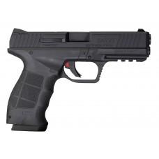 "Sar USA SAR9TBL SAR9T 9mm Luger 4.40"" 17+1 Black Steel Slide Black Interchangeable Backstrap Grip"